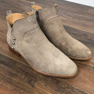 Franco Sarto Leather Booties Size 8M